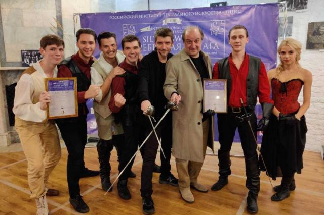 Выпускники ИСИ стали обладателями Гран-при фестиваля «Серебряная шпага 2020»!