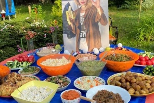 Разнообразные блюда праздничного стола от Екатерины Рождественской