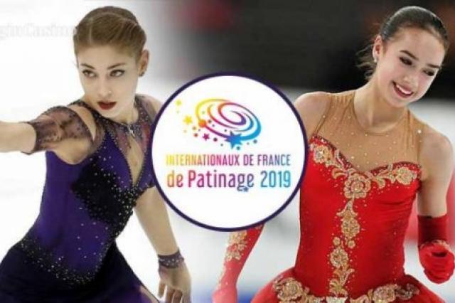 Показательные выступления. Internationaux de France. Гран-при по фигурному катанию 2019/20
