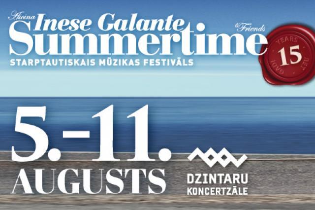 Началась продажа билетов на юбилейный фестиваль «Summertime 2019 – приглашает Инесса Галанте»