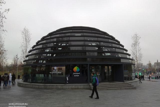 О временных правилах посещения «Зарядья» расскажут знаменитые Москвичи и друзья парка