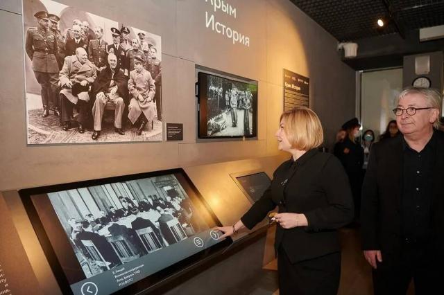 В Подземном музее парка «Зарядье» открылась выставка «Крым. История»