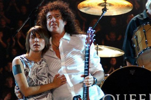 Гитарист Queen поздравил Земфиру с днем рождения