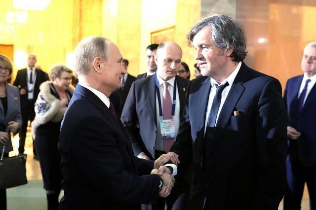 Владимир Путин встретился с Эмиром Кустурицей