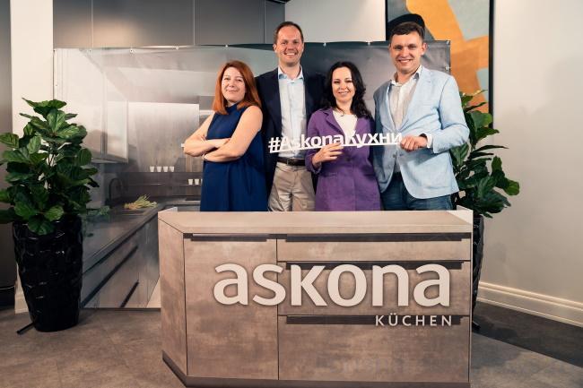Askona открыла первую кухонную студию