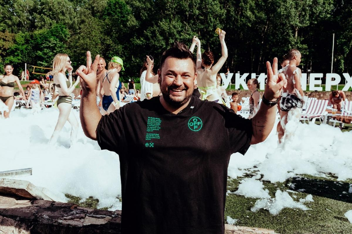 Сергей Жуков подарил москвичам пляж