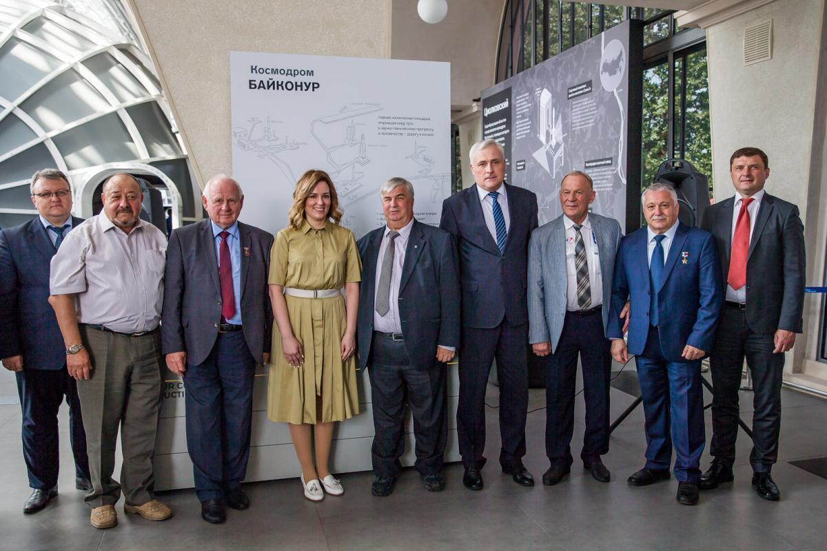 В центре «Космонавтика и авиация» на ВДНХ открылась тематическая зона о космодроме Байконур