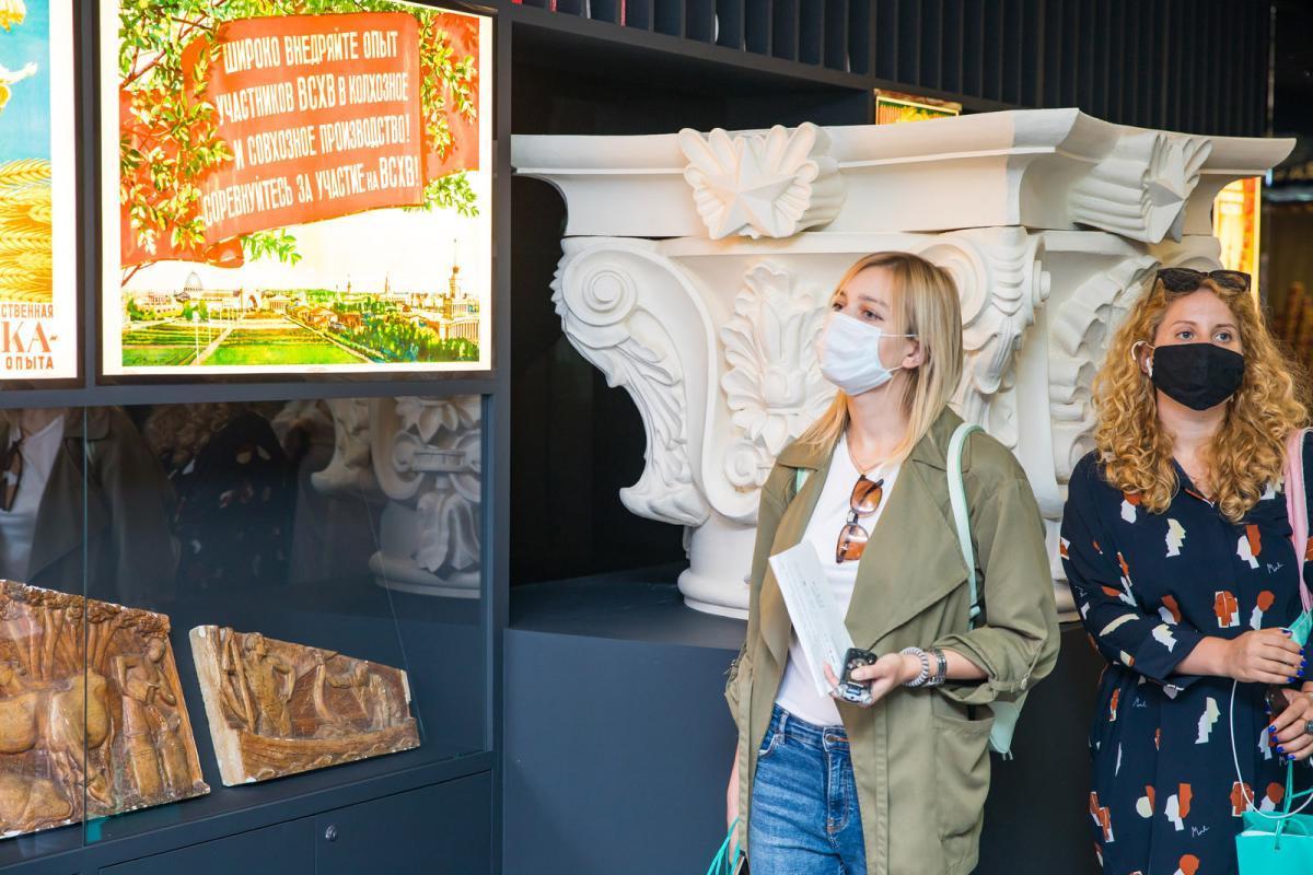 Снова бесплатно: гостей ВДНХ вновь ждет свободный вход в Музей ВДНХ и Центр «Слово»