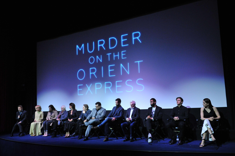 В Лондоне прошла презентация фильма «Убийство в восточном экспрессе»