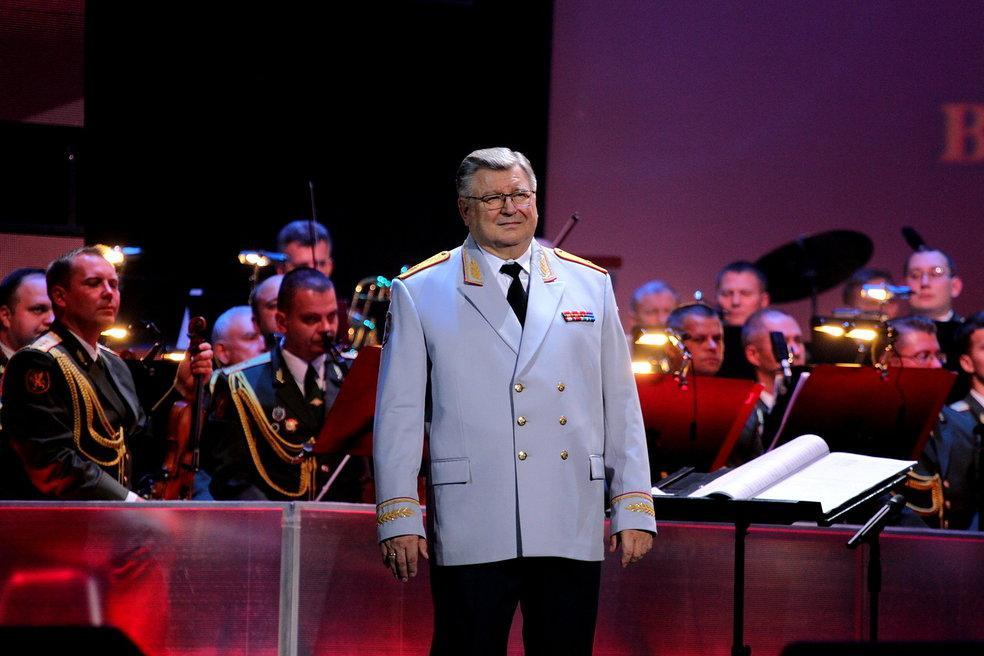 Ансамбль национальной гвардии Российской Федерации под руководством Виктора Елисеева отпраздновал юбилей в Кремле