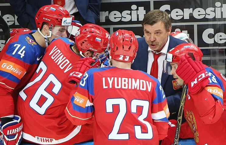 Сборная России сыграет с командой США за бронзовые медали чемпионата мира по хоккею