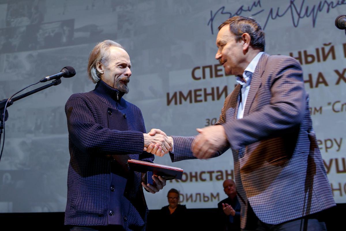 Константин Лопушанский получил Спецприз имени Марлена Хуциева на фестивале «Сталкер»