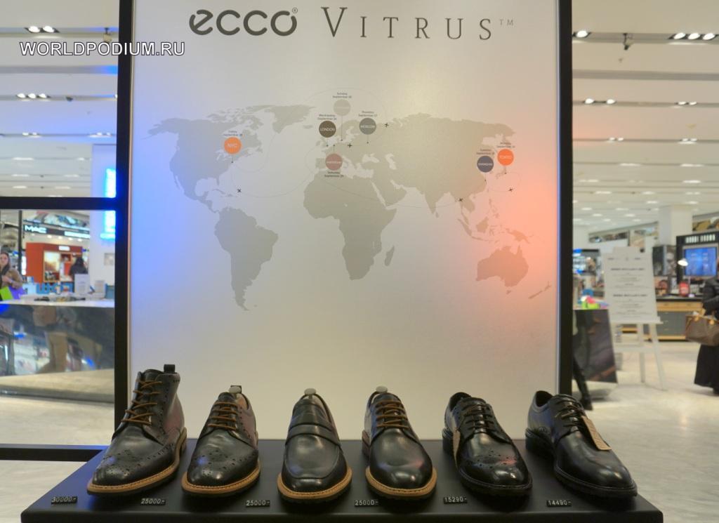 Премиальная лимитированная коллекция The ECCO VITRUS