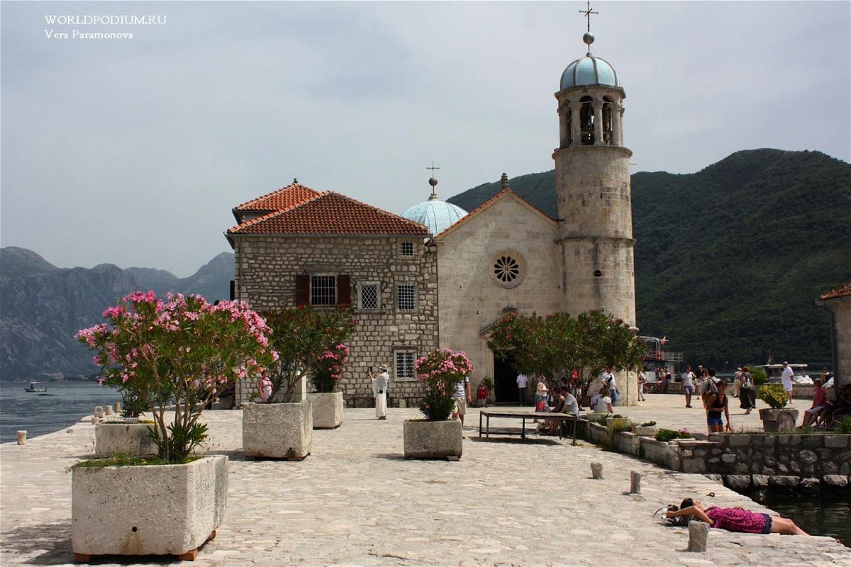 Остров Богородицы – одна из главных Святынь Черногории