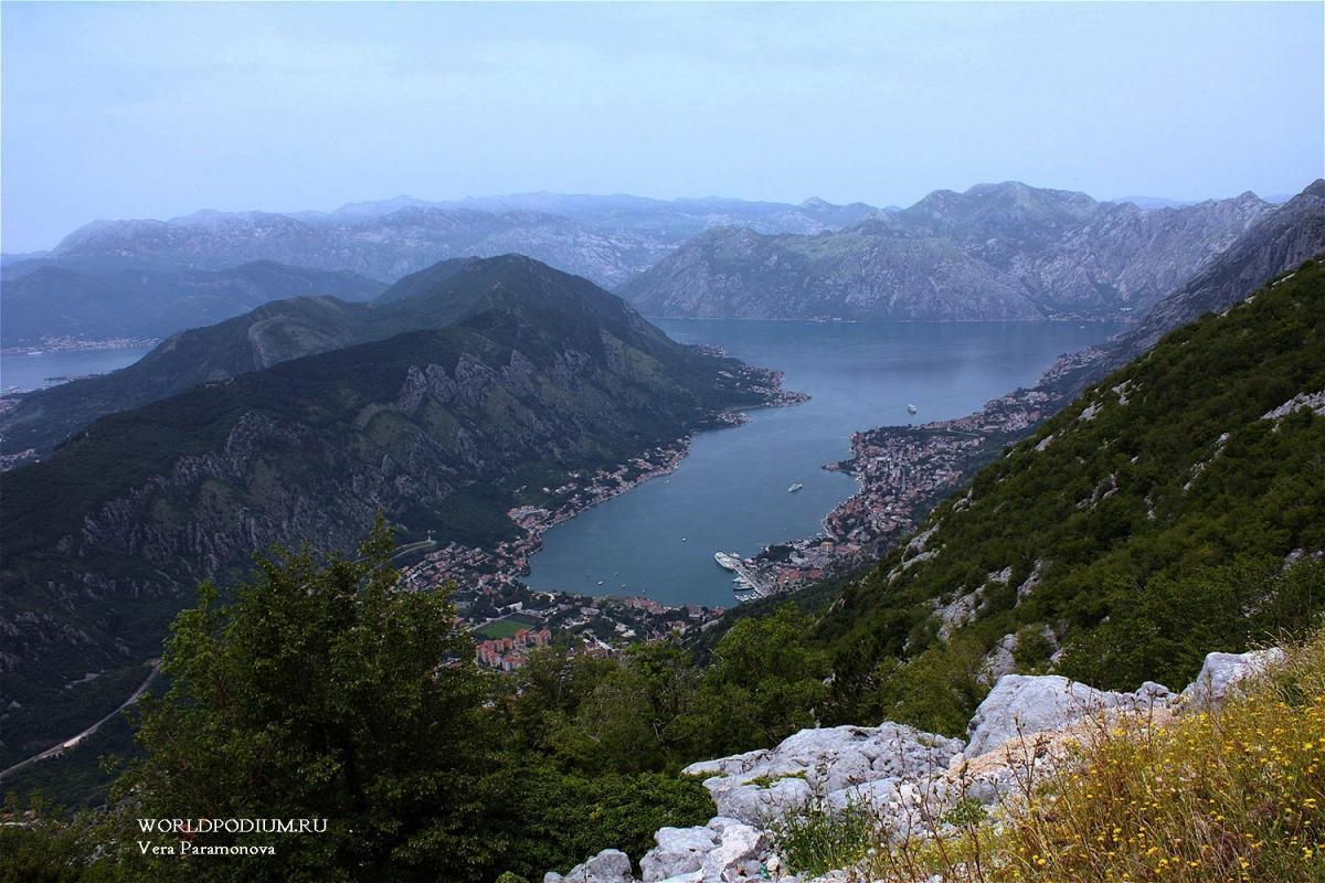 Бока-Которская бухта в Черногории
