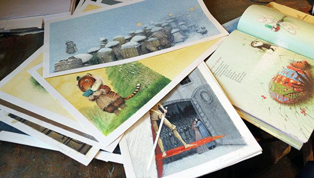 Российский иллюстратор Олейников получил литературную премию Андерсена