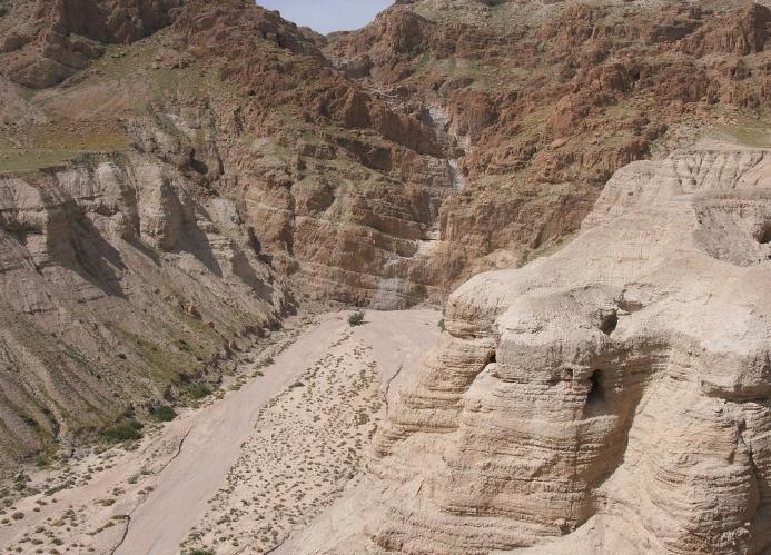 Ученые обнаружили текст в считавшихся пустыми свитках Мертвого моря
