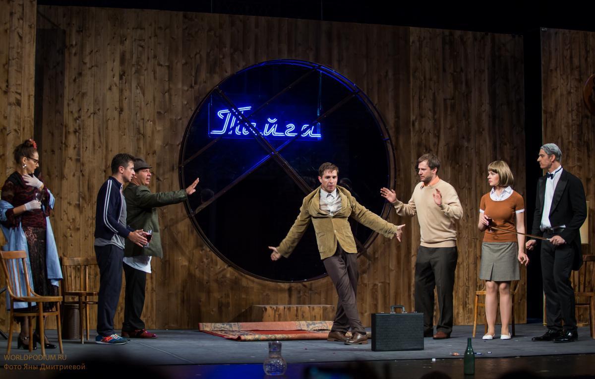 Премьера спектакля «Тайга» - команда мечты на театральной сцене!