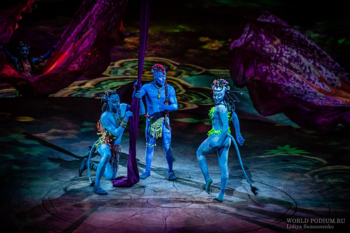 Шоу Cirque du Soleil  «ТОРУК – Первый полет»: добро пожаловать на планету Пандора!