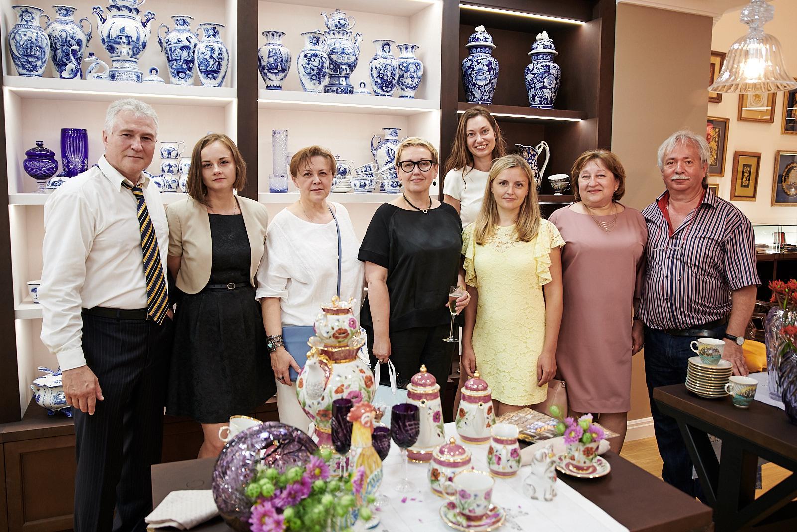 Ведущие предприятия народных художественных промыслов открыли первый бутик национального бренда «Русская палитра»