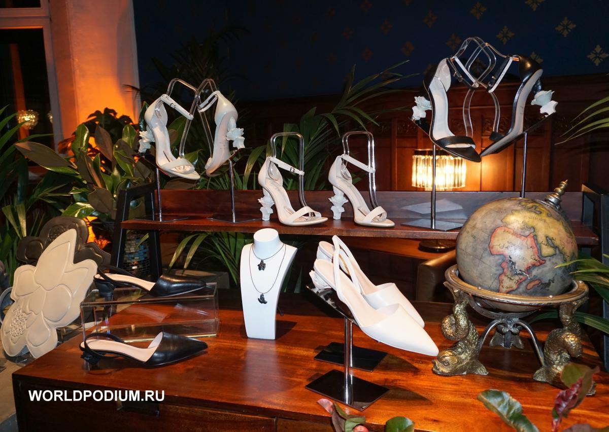 Презентация второй капсульной коллекции Ruban for Ekonika в исторических интерьерах особняка Кнопа