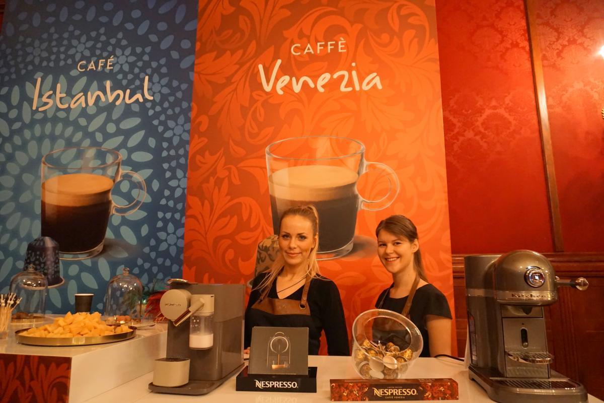 Nespresso представляет лимитированную коллекцию Coffee houses, посвященную первым кофейням Стамбула и Венеции