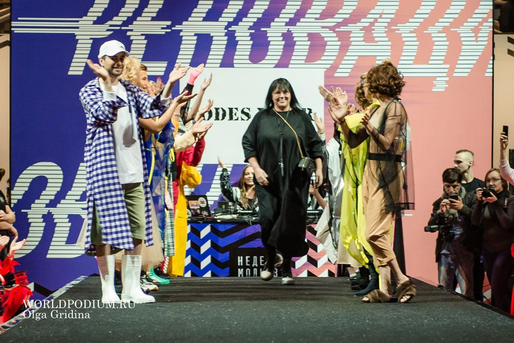 Алла Духова и бренд TODES WEAR на Неделе моды в Москве