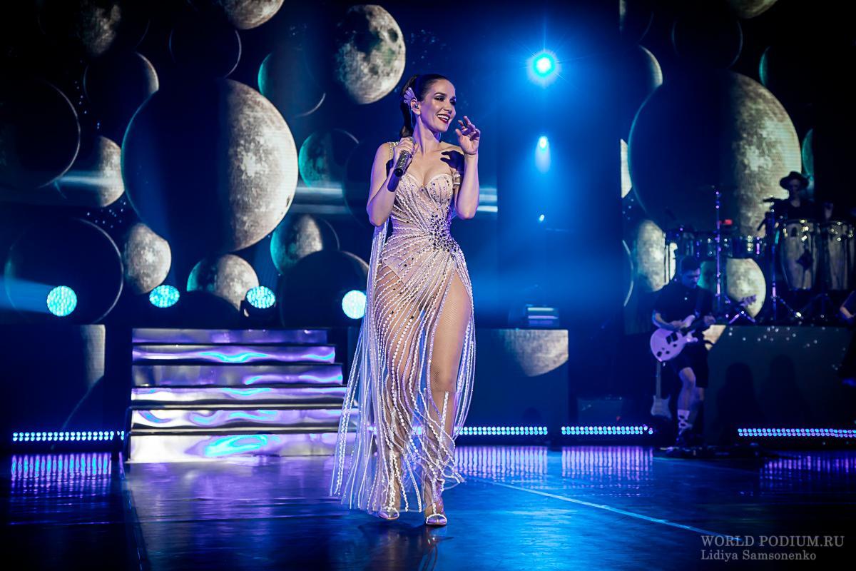 Планета «Орейрово» - Наталия Орейро с космическим шоу «Unforgettable» в Москве!