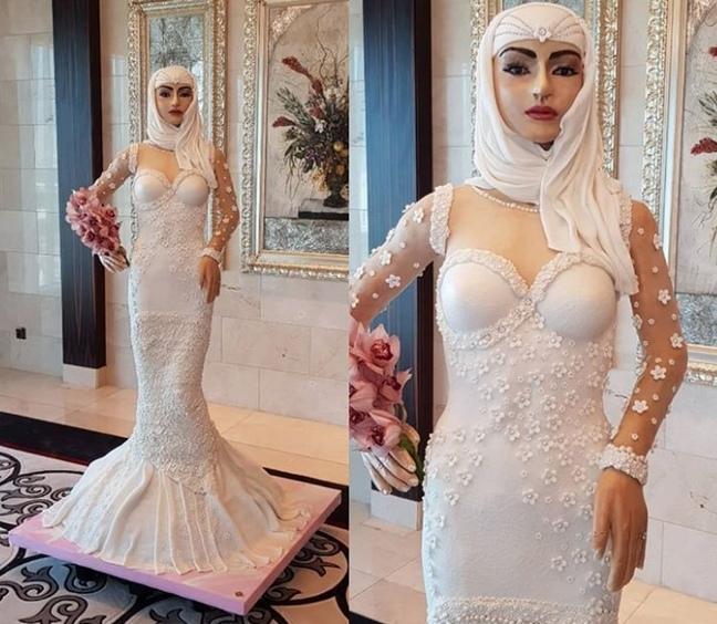 В Дубае испекли самый дорогой свадебный торт в мире