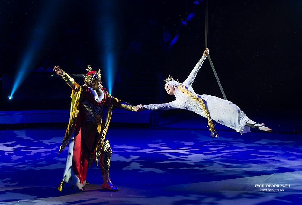 «Кабы я была царица…» - «Сказка о царе Салтане» ожила на манеже Большого Московского цирка!
