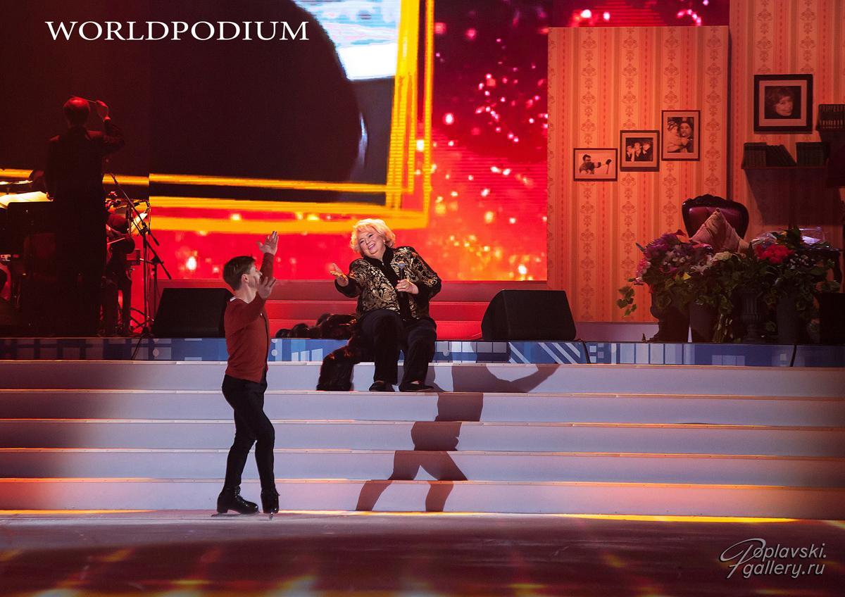 «Это было  Шедеврально!», - шоу в честь юбилея Татьяны Тарасовой! Часть вторая.