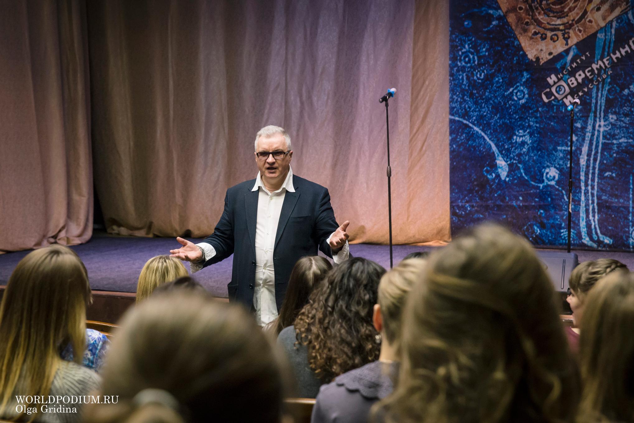 ИСИ-2017: вокальный мастер-класс профессора Александра Михайловича Малиновского