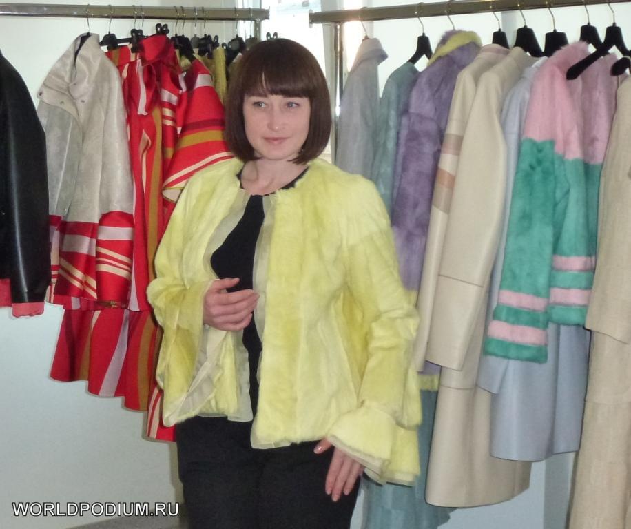 Презентация новой коллекции модельера Лизы Романюк в Доме моды VEMINA