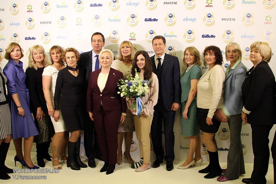 Procter&Gamble чествует мам спортсменов-кандидатов в Олимпийскую команду России на XXIII Зимних Олимпийских Играх
