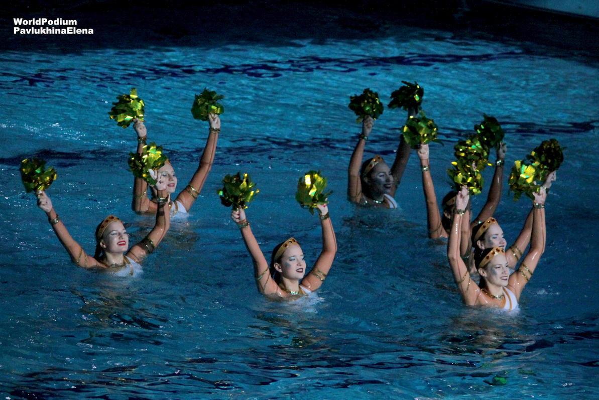 «Миссия Одиссей» в бассейне «Динамо» - новогодняя сказка от Марии Киселёвой