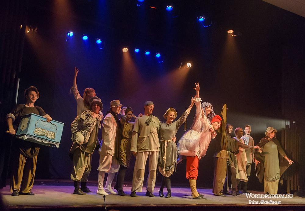 «Спешите видеть! Спешите слышать!», - премьера спектакля «Золотой ключ» в Московском Губернском театре