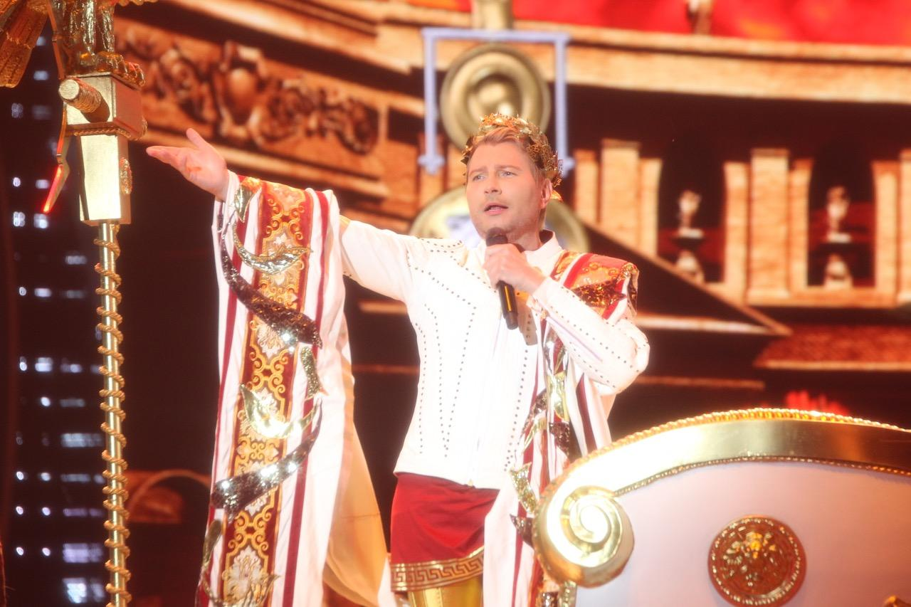 Николай Басков выступил на «Славянском базаре» с сольным концертом
