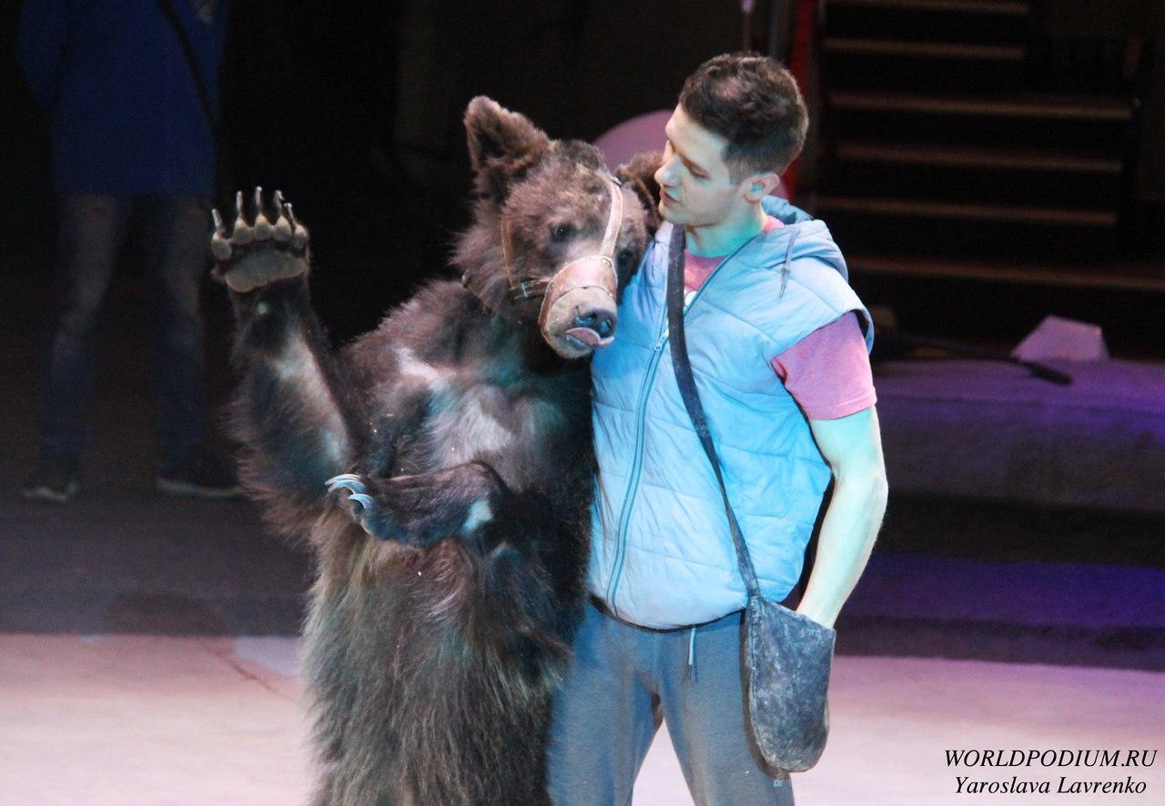 Открытая репетиция в Большом Московском цирке в преддверии Международного Дня Цирка!