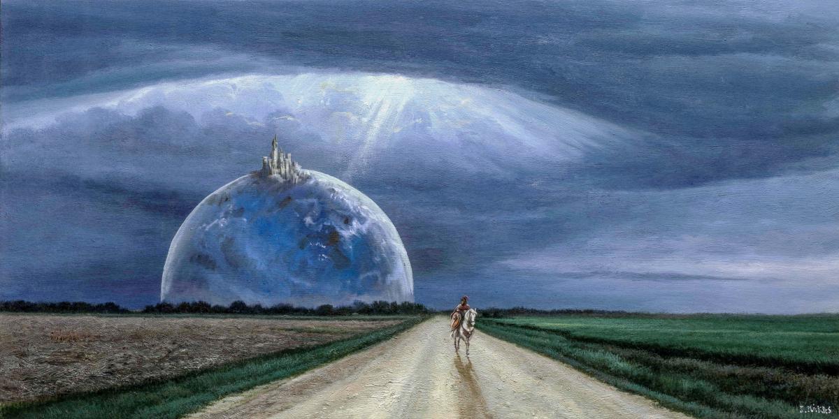 Первая мультимедийная выставка Никаса Сафронова «Иные миры» пройдет в Москве