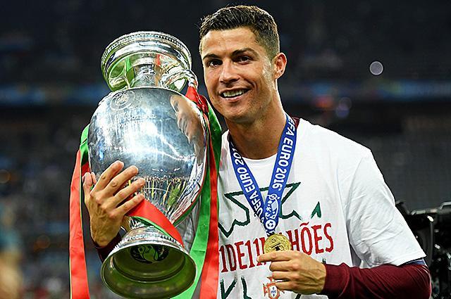 Криштиану Роналду отдал денежный приз Евро-2016 на благотворительность