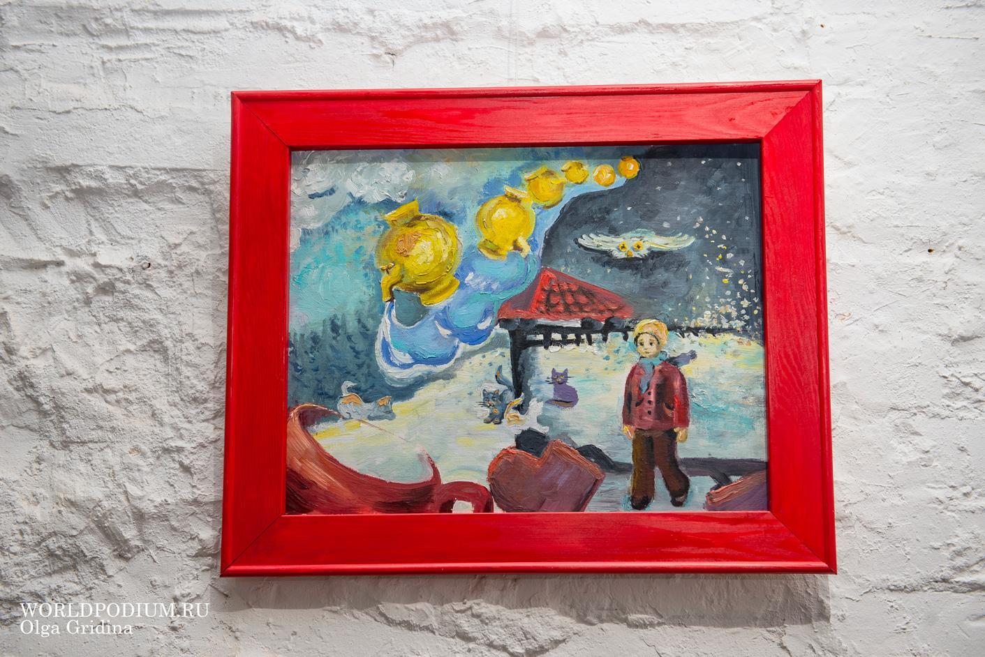 Студенты кафедры «Дизайн» Института современного искусства представили проект «Сто фантазий» в галерее «Промграфика»
