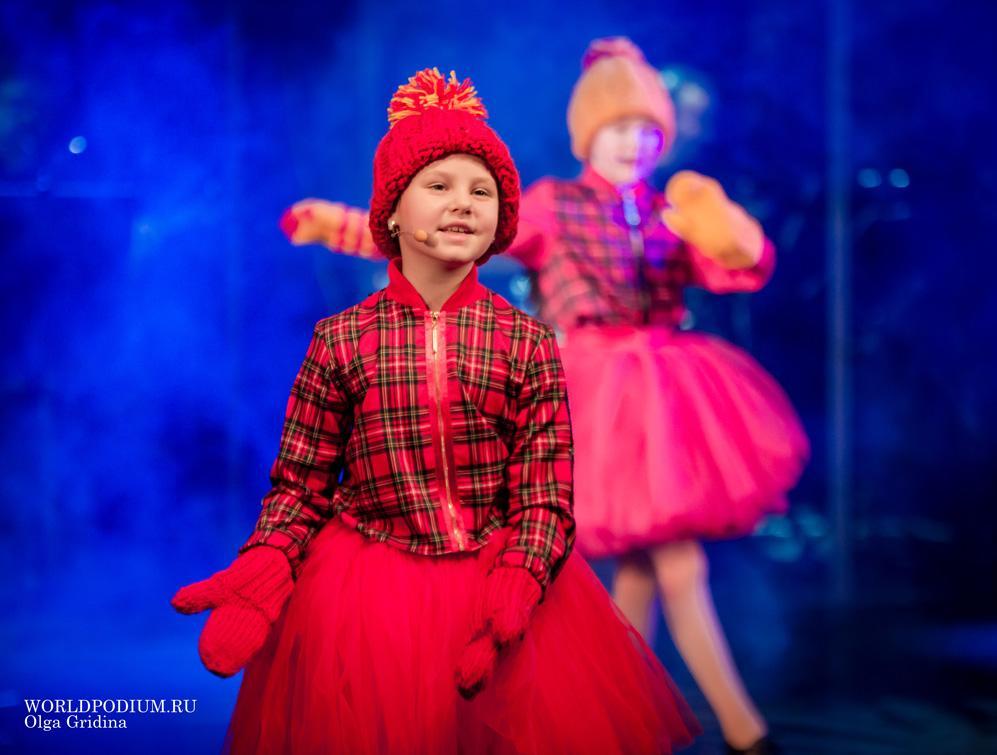 Концерт эстрадного отделения Московского детского театра эстрады