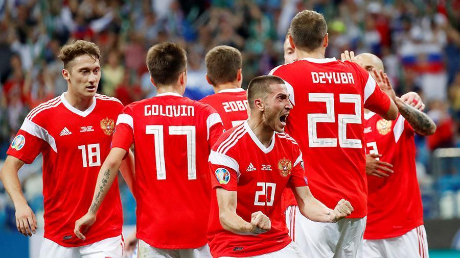 Сборная России обыграла команду Кипра в отборочном матче на Евро-2020