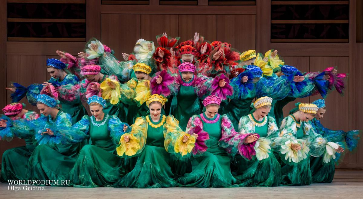 Один из символов России - Государственный академический хореографический ансамбль «БЕРЕЗКА»