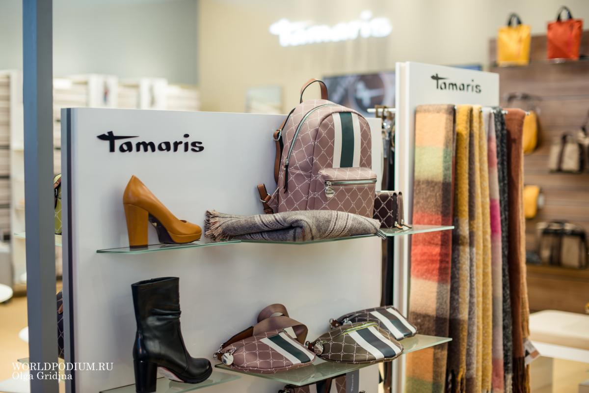 Tamaris на выставке Euro Shoes