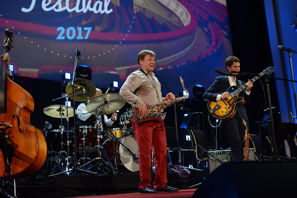 Игорь Бутман, Патти Остин и другие звёзды на сцене  World Jazz Festival