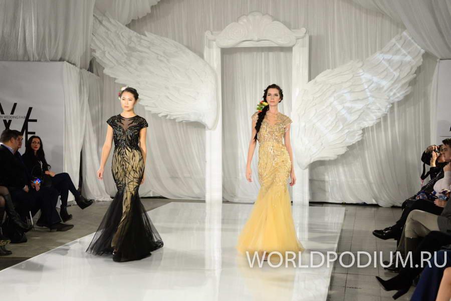Показ Terani Couture на Russian Wedding Fair