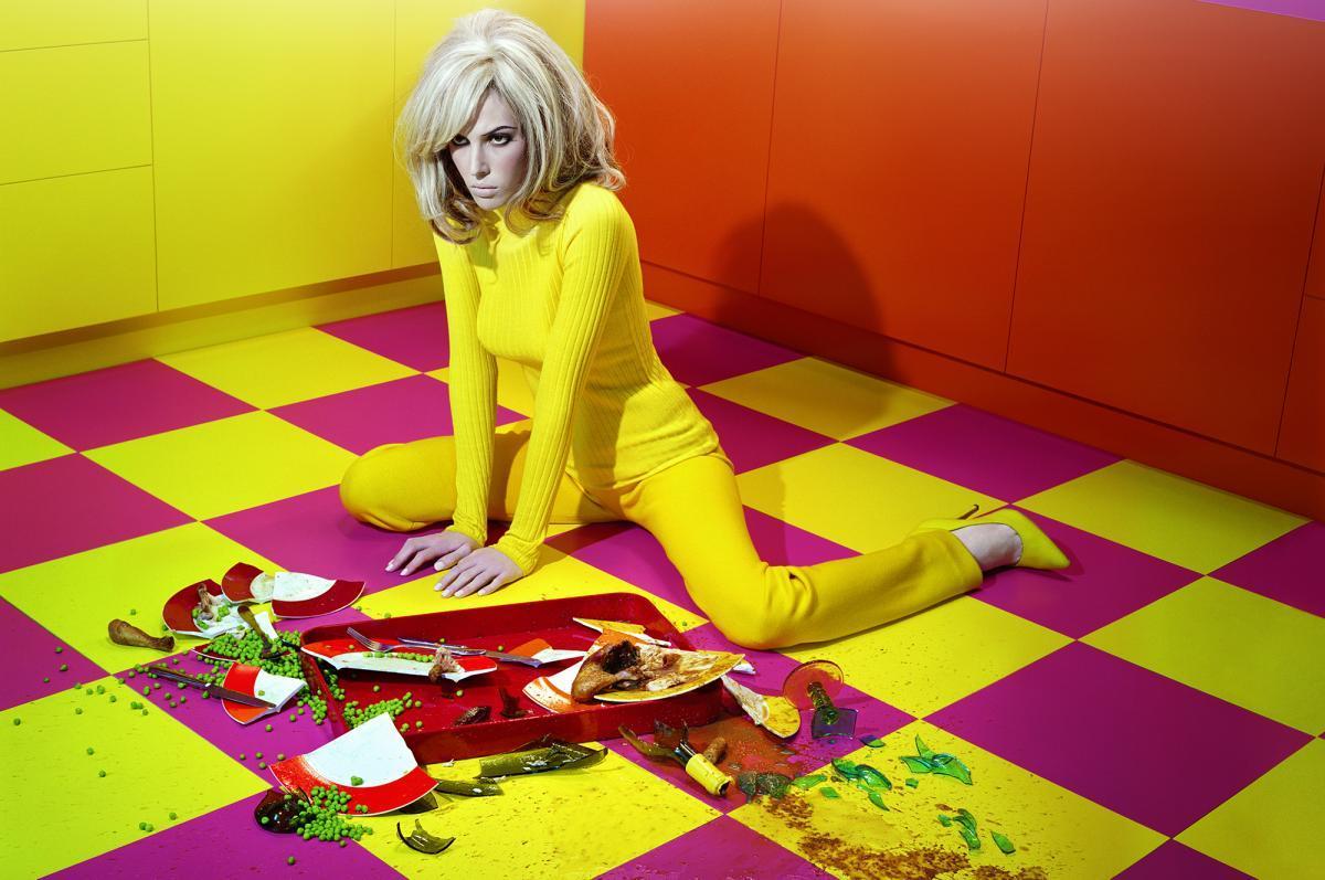 Ретроспективная выставка британского fashion-фотографа Майлза Олдриджа
