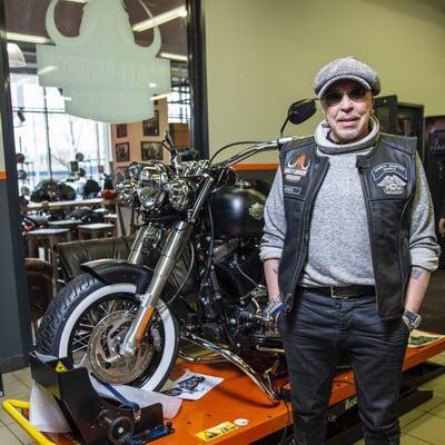 Гарик Сукачев создал собственный мотоцикл