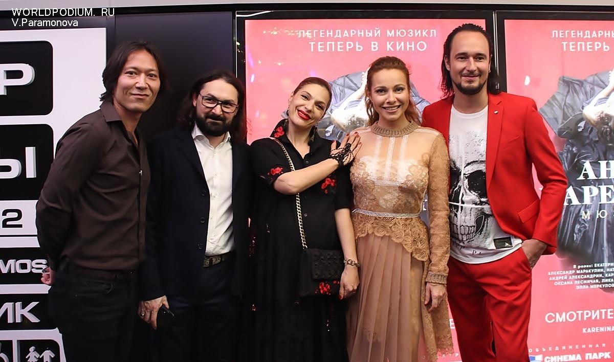 Киноверсию мюзикла «Анна Каренина» увидят в США и Великобритании